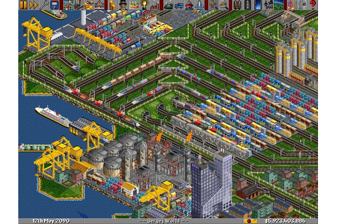 Atari ST OpenTTD (Transport Tycoon Deluxe) : scans, dump ...